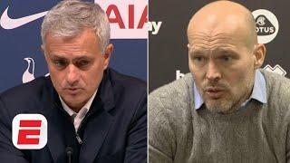 Jose Mourinho, Freddie Ljungberg, Frank Lampard & Premier League managers react to Week 14 | ESPN FC