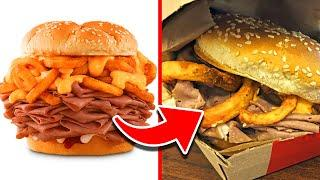 Top 10 Most OUTRAGEOUS Fast Food Items of All Time!