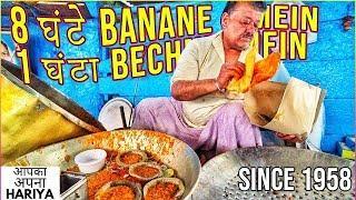 Delhi Street Food ke LEGENDARY CHOLE BHATURE | Sirrre di BHELPURI, Batata Puri, Jhaal Muri & more