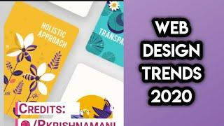 Top 10 Web Design Trends in 2020 - Every Designer Should Try || 2020 || Web Design And Development