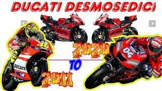 Ducati Demosedici  MotoGP 2011 to 2020 - 10 years for development