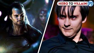 Heroes Who Became Villains In Movies Marvel/DC - PJ Explained