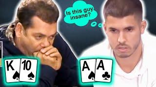 This Guy Gets Involved in the Craziest Poker Hands! | Francisco Mixes It Up in High Stakes $50/$100