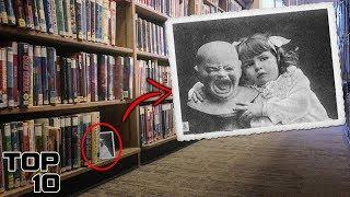 Top 10 Scary Notes Found In Library Books
