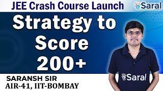CRACK JEE 2020 with Top Rank | Complete Strategy for JEE (Main + Advanced)