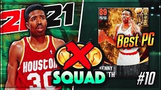 NO MONEY SPENT SQUAD #10! WE ADD THE BEST CHEAP POINT GUARD IN NBA 2K21 MyTEAM TO THE SQUAD!!
