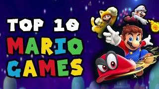 My Top 10 Favorite Mario Games (2000-2020) Story Games Only