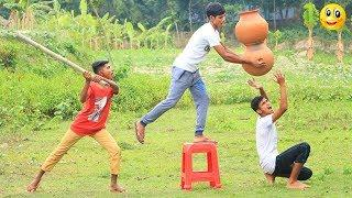 New Top Funny Comedy Video 2020__Very Funny Stupid Boys__Episode-120--Indian Fun || ME Tv