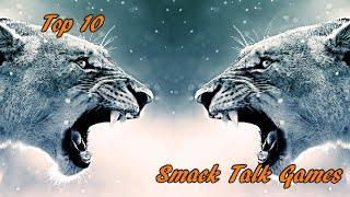 Top 10 Smack Talk Games - Family Showdown Live!