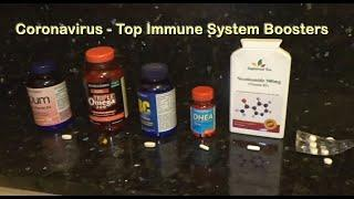 Coronavirus Best Vitamins for COVID-19 Protection, Top Immune System Boosters