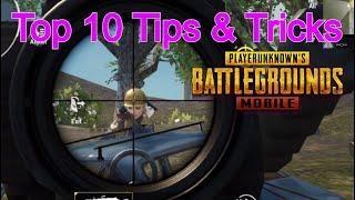Pubg Mobile |  Top 10 Tips and tricks | From Noob to Conqueror  | Hand Claw Camera