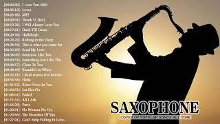 Top 30 Saxophone Cover Popular Songs - Best Instrumental Saxophone Covers 2019