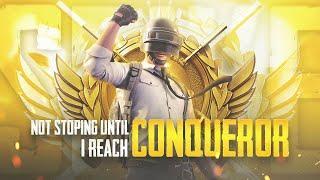 Not Ending Stream Until I Reach  Conqueror LET'S GOO!! | PUBG Mobile | Mr Spike