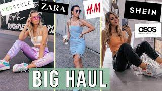 BIG HAUL ÉTÉ 2020 : SHEIN, YESSTYLE, PRETTY LITTLE THING, H&M...