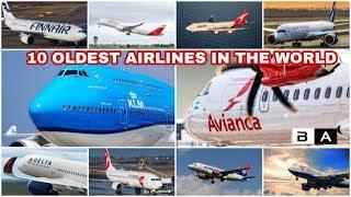 Top 10 Oldest Airlines in the World