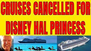CRUISE LINE NEWS TODAY DISNEY CRUISE HOLLAND AMERICA PRINCESS SEABOURN