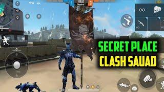 Secret Place In Clash Squad || Top Of Factory || Garena Free Fire