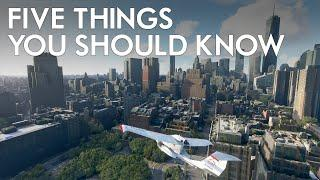 Microsoft Flight Simulator 2020 - Five Things You Should Know (That Will Change How You Play)