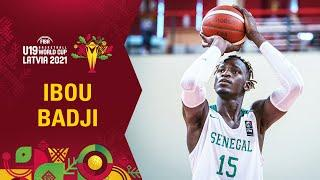 Ibou Badji shows his jumping ability  - Best plays in the group stage | FIBA U19 World Cup