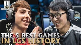 The 5 Best Games in LCS History | Lol esports Top 5