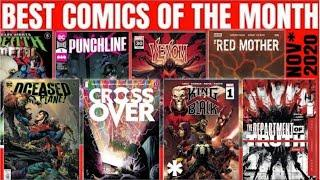 What are the BEST Comics of the Month ? Live Comic Book Review Panel, Marvel, DC & KING IN BLACK #1