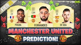 FIFA 21 | MANCHESTER UNITED RATINGS PREDICTION!!