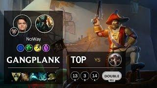 Gangplank Top vs Sett - EUW Challenger Patch 10.4