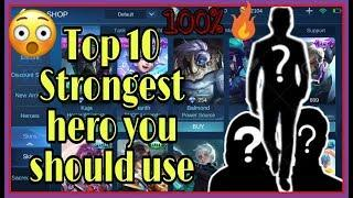 Top 10 strongest heroes you can use in solo gaming | Meta heroes | Atreus Ubay