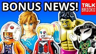 BONUS LEGO NEWS! 2020 SETS! Star Wars! Marvel! Batman! Jurassic World! Hidden Side! Ninjago! Zelda?!