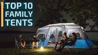 Top 10: Best Family Camping Tents for 2020 / 10 Best Tents for Outdoor / Camping Tents, Family Tents