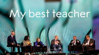 Nobel Prize Dialogue: My best teacher