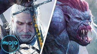 Top 10 Monsters From The Witcher