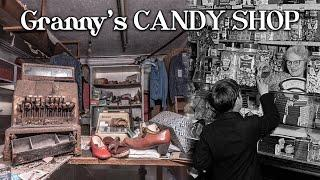 Granny's abandoned candy shop in England | Time has frozen