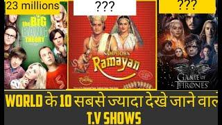 Top 10 most viewed T.V shows in the world  Facttory