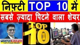 निफ़्टी TOP 10 में सबसे ज़्यादा पिटने वाला शेयर | Latest Share Market News | AXIS BANK Share Price