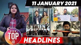 Top 10 Big News Of the Day |11th January 2021 : What's Hot in Bollywood ?