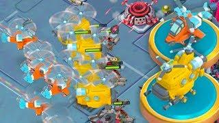 NEW BOOM BEACH FLYING TROOPS GAMEPLAY! Rocket Chopper and Heavy Chopper in Warships!