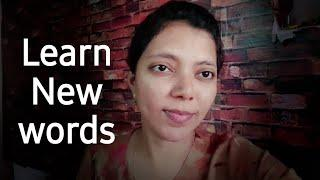 Learn New Words | Spoken English through Tamil | Expressions