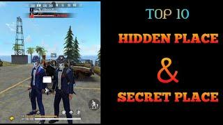 ||  FREE FIRE  || BERMUDA REMASTERED TOP-10 HIDDEN & SECRET PLACE || PART-3 ||