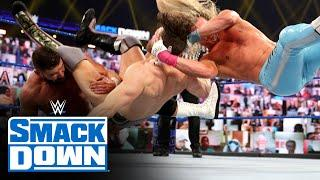 Bryan & Cesaro vs. Ziggler & Roode – Elimination Chamber Qualifying Match: SmackDown, Feb. 12, 2021