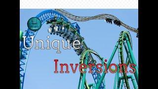Top 10 Unique and Strangest Roller Coaster Inversions