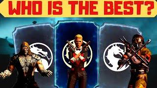 MK Mobile: Top 10 BEST GOLD characters in the game! My subjective ranking!
