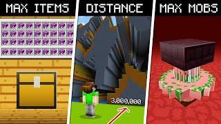 10 Ways to PUSH Minecraft to its LIMITS!