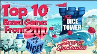 Top 10 2010 Games (Featuring Tom, Zee, Crystal, & Paula)