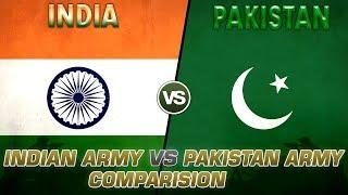 Indian Army Vs Pakistan Army Comparison   Top 10 World Trend