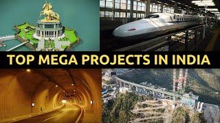 Top Mega Projects in India 2020 || India's Development || भारत की मेगा परियोजनाएँ || 2020-2025.