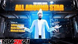 GAME BREAKING BEST GUARD BUILD is a DEMIGOD in NBA 2K21! *INSANE* Best Build 2K21 + Best Badges 2K21