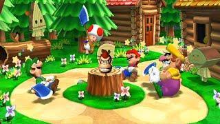 Luigi VS Mario VS wario VS Toad | MARIO PARTY 9 Minigames (Master CPU) | NINTENDO