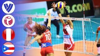Peru vs. Puerto Rico - Full Match | Group 2 | Women's Volleyball World Grand Prix 2017