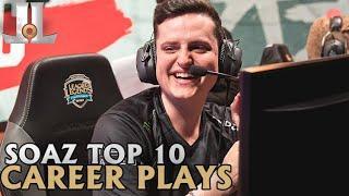 Soaz Top 10 Career Plays | Lol esports